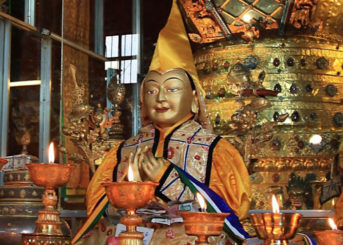 December 23 is Lama Tsongkhapa Day — Ganden Ngamchoe, anniversary of Lama Tsongkhapa's parinirvana!