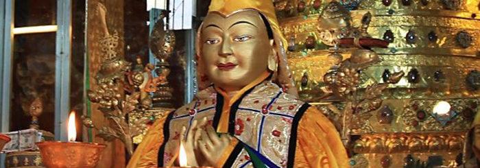 December 23 is Lama Tsongkhapa Day — Ganden Ngamchoe, anniversary of Lama Tsongkhapa's parinirvana!