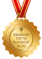 Awarded Top 50 Buddhist Blog
