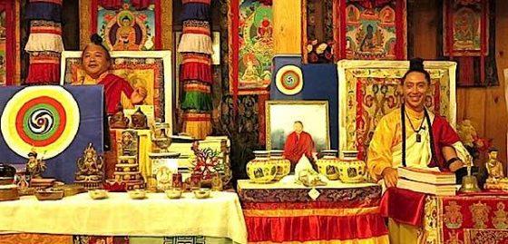 Buddha Weekly AlejAndro Anastasio with Teacher Dzogchen Khenpo Choga Rinpoche Buddhism