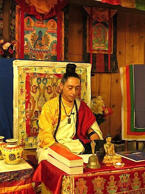 Buddha Weekly Alejandro teaching Buddhism