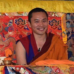 Buddha Weekly Chapur Rinpoche on throne Buddhism