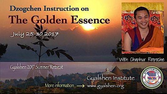 Buddha Weekly Dzogchen Institute Retreat July 2017 Buddhism