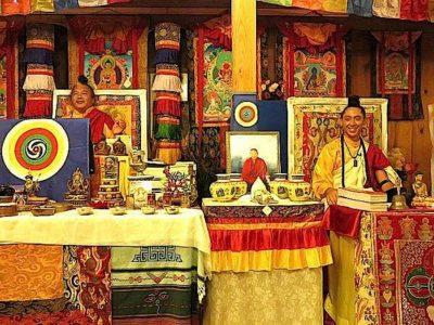 Buddha Weekly Dzogchen Khenpo Choga Rinpoche and Alejandro teaching Buddhism