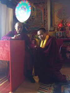 Buddha Weekly His Holiness the 33rd Menri Trizin Rinpoche and Chaphur Rinpoche Buddhism