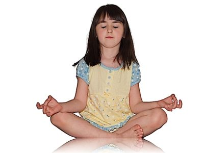 Buddha Weekly Little girl meditation Buddhism