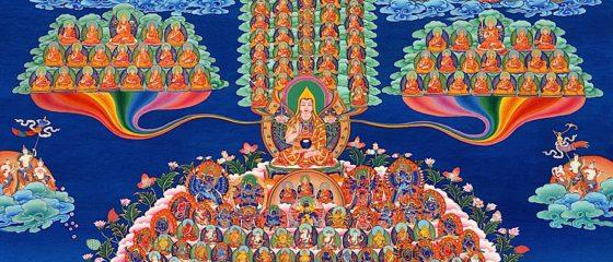 Buddha Weekly Tsongkhapa Gelug Refuge merit tree Buddhism