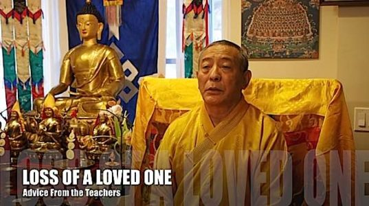 Buddha Weekly Zasep Tulku Rinpoche Advice for Students on Bereavement loss of loved one Buddhism
