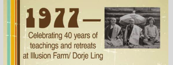 1977 2017 40th anniverary at dorje ling