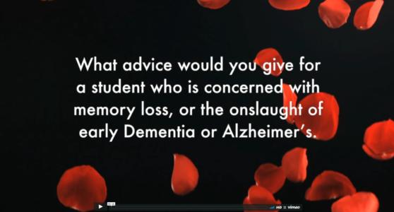 Buddha Weekly Advice from the Buddhist Teachers Video Memory Loss Alzheimers Dementia Mindfulness