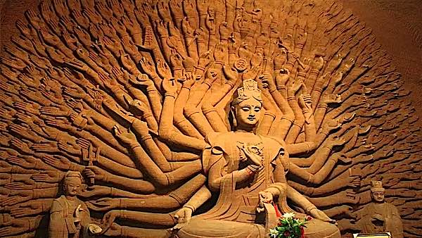 Buddha Weekly Avalokiteshvara a thousand arms of caring Buddha Weekly Buddhism