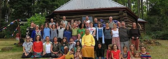 Video: Celebrating 40 Years of Dharma Practice in Remote Tasmania! One of the oldest Dharma centers in the West Commemorates with Retreat, and a Party