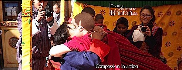 Buddha Weekly Emma Slade Opening Your Heart to Bhutan charity Buddhism