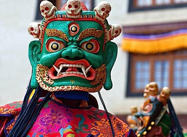 Buddha Weekly Mask Dance Tibet Losar Buddhism
