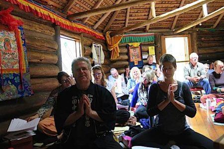 Buddha Weekly Mediations at Dorje Ling 40th anniversary Buddhism