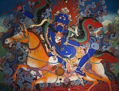 Buddha Weekly Palden Lhamo Horizontal Buddhism