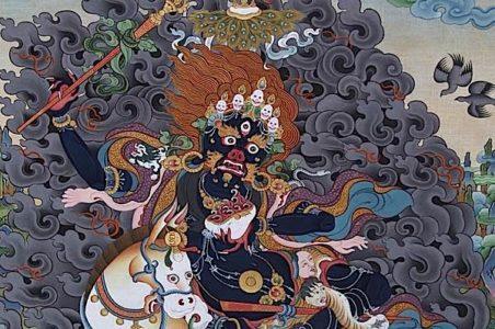 Buddha Weekly Palden Lhamo close up Buddhism