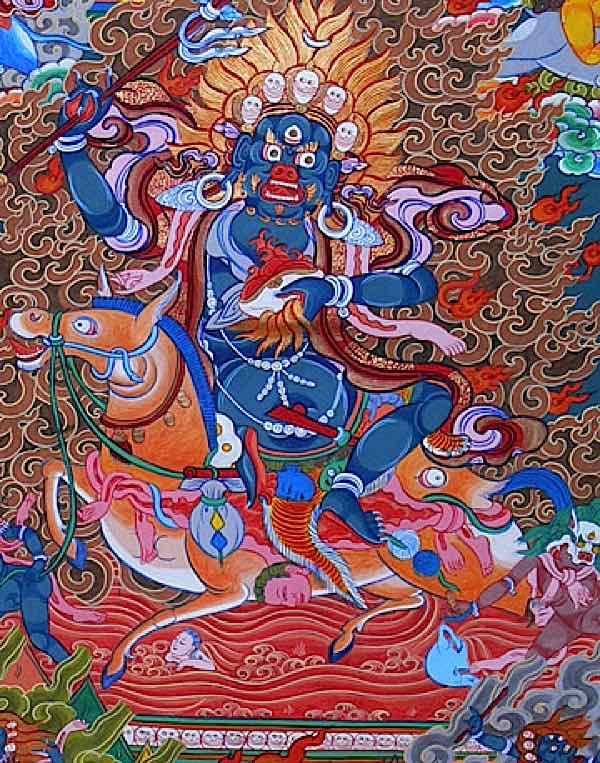 Buddha Weekly Palden Lhamo fierce Buddhism