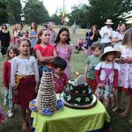Buddha Weekly People of all ages attended Dorje Ling 40th party Buddhism
