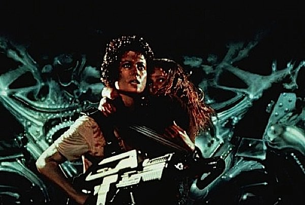 Sigourney Weaver as Ripley in Aliens as metaphor for Palden Lhamo Motherly Protector Buddhist
