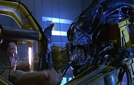 Buddha Weekly Ripley versus Alien in Aliens Sigourney Weaver as Palden Lhamo archetype Buddha Weekly Buddhism