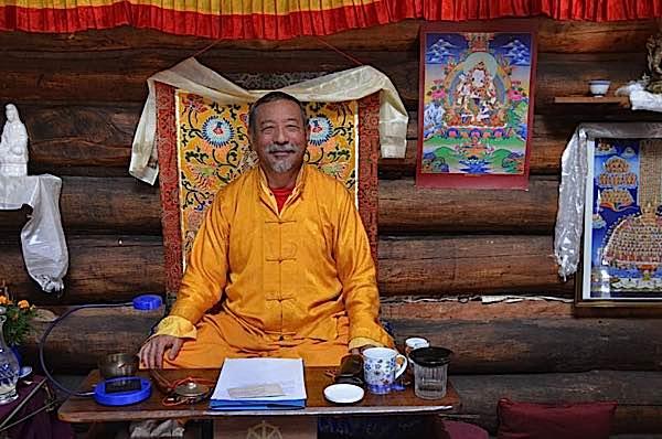 Buddha Weekly Zasep Tulku Rinpoche spiritual head of Dorje LIng Buddhism