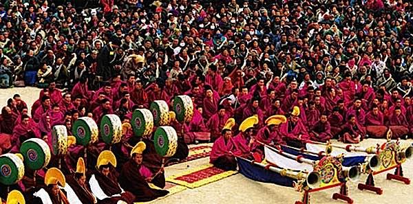 Buddha Weekly losar festival in Ladak Buddhism