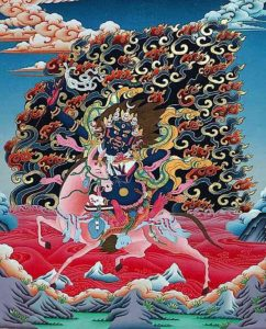 Buddha Weekly palden lhamo the goddess of divination tk43 Buddhism