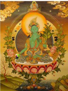 Green Tara beautiful Buddha Weekly e1488818385604