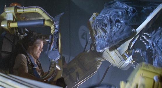 Ripley Sigourney Weaver Versus Alien in Aliens movie is like Paldhen Lhamo Protector Buddha Weekly