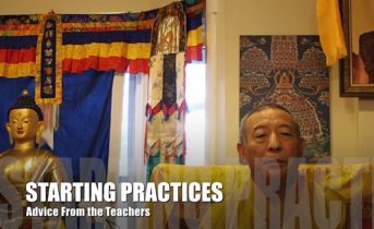 Teacher Advice Video 6: What Advice Would You Give to a Student New to Buddhism as Starting Practices? — — Answered by Venerable Zasep Tulku Rinpoche