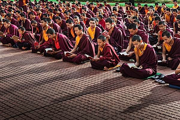Buddha Weekly Buddhist monks chant mantras daily for the benefit of all beings Buddhism