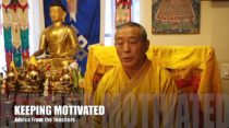 Buddhist Teacher Advice Video 7: Keeping Motivated in Your Daily Practice, Answered by Venerable Zasep Tulku Rinpoche