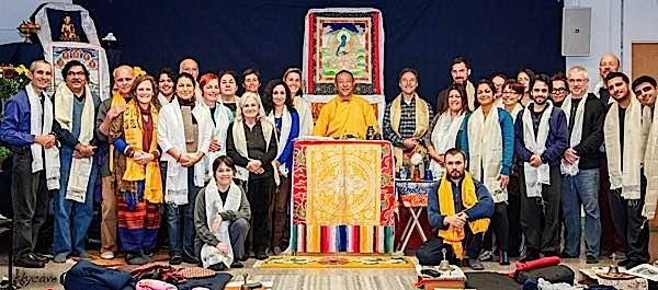 Buddha Weekly Medicine Buddha Event group shot Buddhism