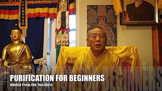 Buddha Weekly Purification for Beginners Zasep Rinpoche video Buddhism