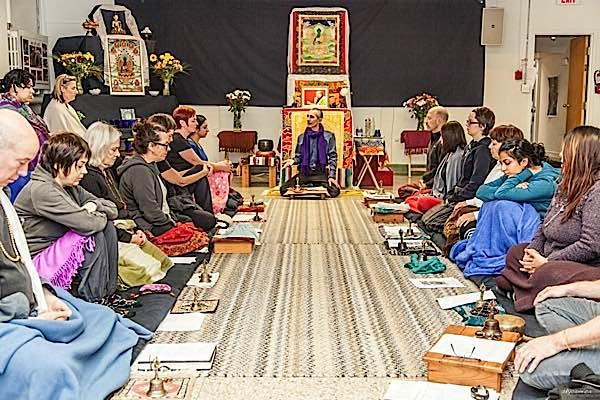 Buddha Weekly Theodore teaching at Medicine Buddha Event Buddhism
