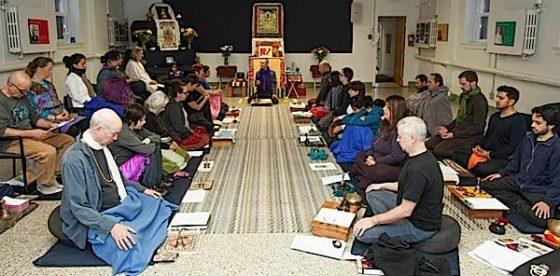Buddha Weekly Theodore teaching at Medicine Buddha Event long Buddhism