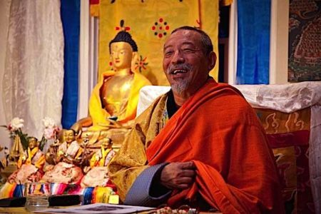 Buddha Weekly Zasep Tulku Rinpoche happy at Medicine Buddha event Buddhism 1