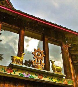 Buddha Weekly bc dharma wheel Retreat Centre Nelson BC Buddhism