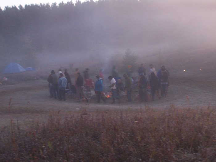 Theodore Tsaousidis Campfire Shaman