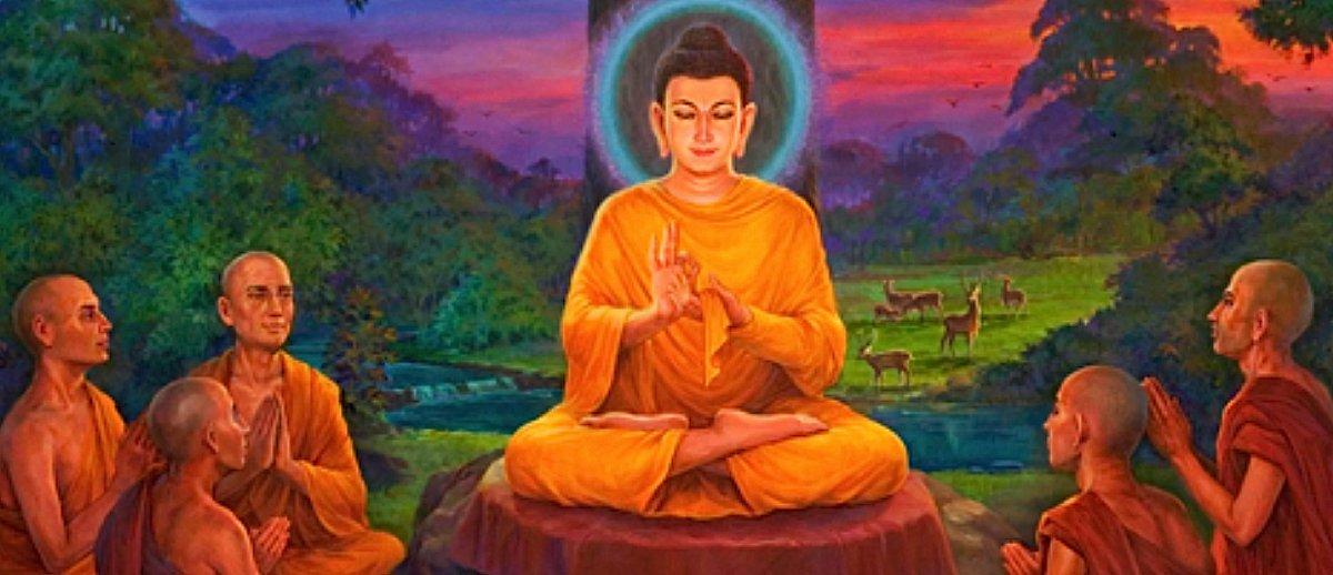 Buddha Weekly Buddha Teaching Monks deer park Buddhism