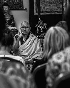 Buddha Weekly Geshe Sherab teachng students Buddha Tara Statues Buddhism