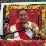 Buddha Weekly H.E. Garchen Rinpoche at Teachings Spins Wheel from Galgamani Buddhism