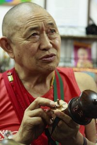 Buddha Weekly H.E. Garchen Rinpoche examines workings of Prayer Wheel Buddhism