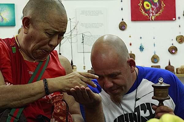 Buddha Weekly H.E. Garchen Rinpoche with Micha Strauss Buddhism