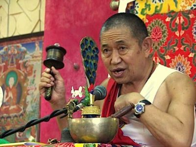 Buddha Weekly H.E. Garchen Rinpoche with Wheel Buddhism