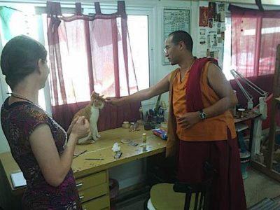Buddha Weekly Lama Tenzin at Galgamani Art Project Buddhism
