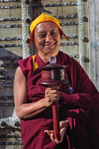 Buddha Weekly Lama Zopa Rinpoche fith Prayer Wheel Photo Lenny Foster Buddhism