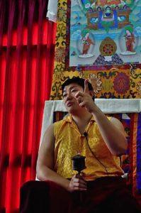 Buddha Weekly Phakchock Rinpoche at Teachings with Wheel from Galgamani Buddhism