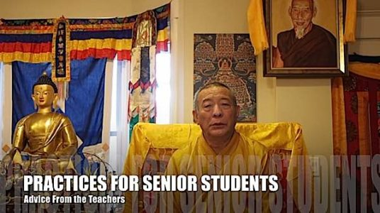 Buddha Weekly Practices for Senior Students Zasep Rinpoche Advice Video 9 Buddhism 1
